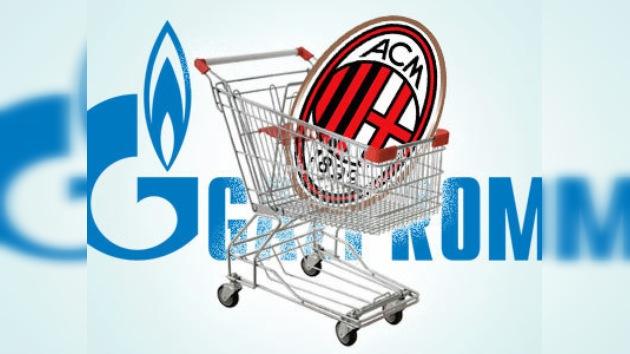 Gazprom podría adquirir el 30% del AC Milan