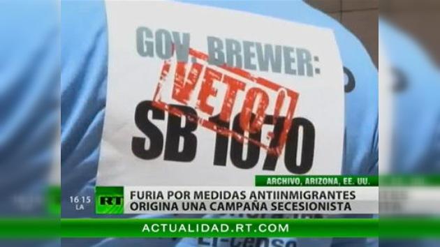 Contrarios a las leyes de inmigración de Arizona impulsan un movimiento secesionista