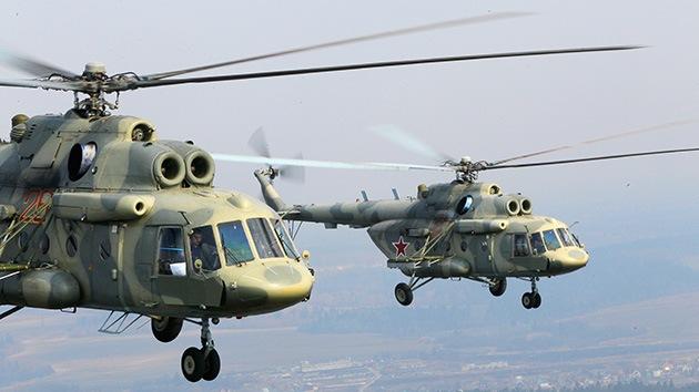EE.UU. compra helicópteros Mi-17 rusos para Afganistán