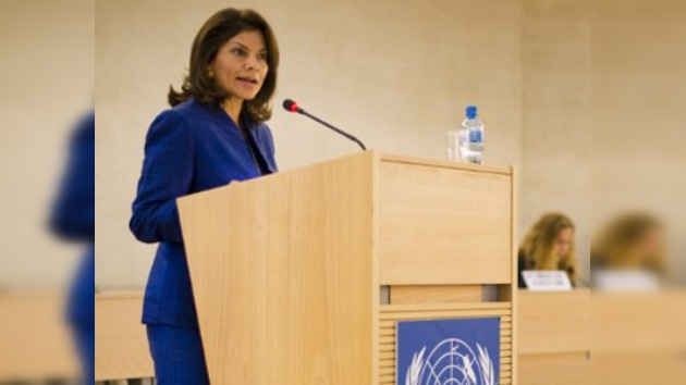 Chinchilla denuncia en la ONU el impacto del crimen organizado en la región