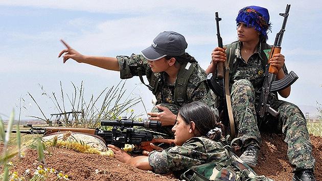 El ejército femenino que hace temblar al Estado Islámico