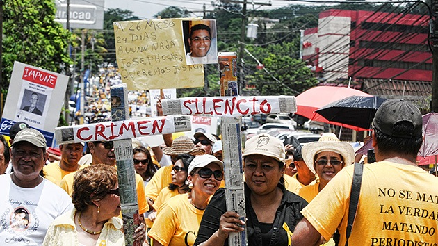 Honduras exige justicia para sus periodistas