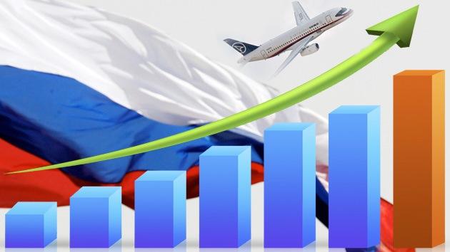 5 señales de que la economía de Rusia está creciendo