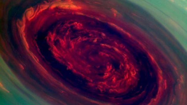 La cara menos oculta de Saturno en 2013
