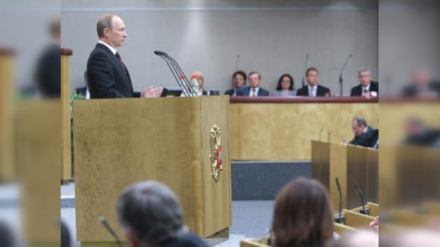 Putin: Rusia reaccionó ante la crisis como un Estado fuerte