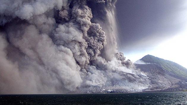 Video: Graban la espectacular erupción del volcán Tavurvur en Papúa Nueva Guinea