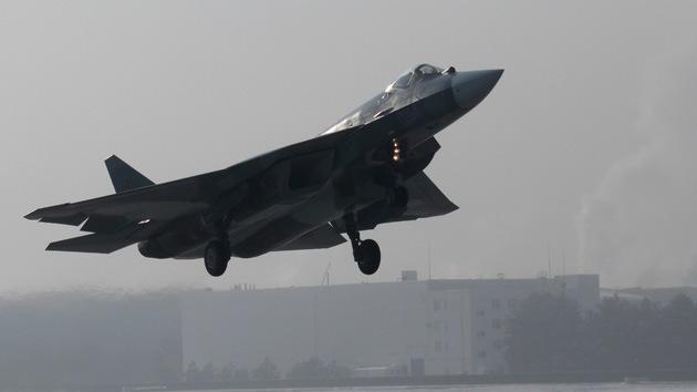 Los pilotos del supercaza ruso T-50 PAK-FA podrán eyectarse a 23 kilómetros de altura