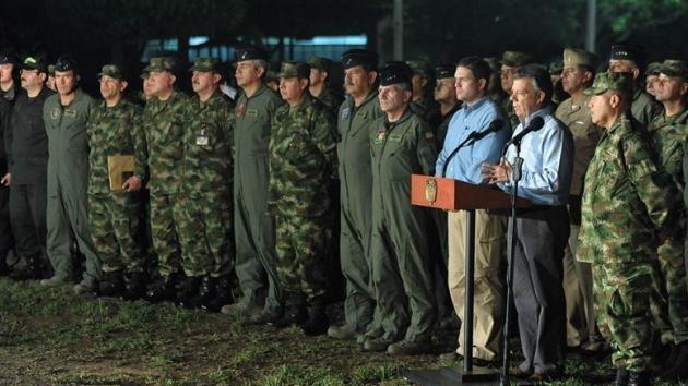 El presidente de Colombia rechaza todo tipo de cese del fuego con las FARC