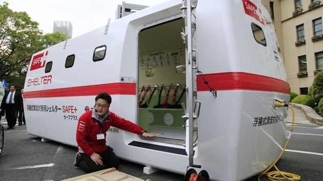 Desarrollan refugio flotante para evacuación en caso de tsunami