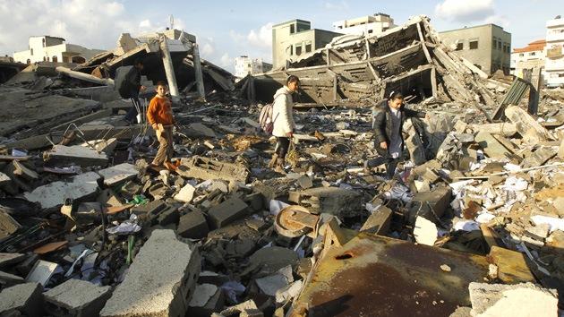 Los ataques israelíes causaron pérdidas en Gaza valoradas en 1.245 millones de dólares