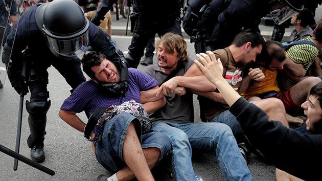Fotos: 'Rodea el Congreso' degenera en violentos choques con la policía