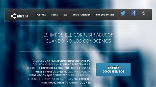 WikiLeaks a la hispana: lanzan Filtra.la, una plataforma para documentos secretos