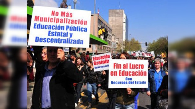 Estudiantes chilenos rompen el diálogo y llaman a una doble jornada de manifestaciones