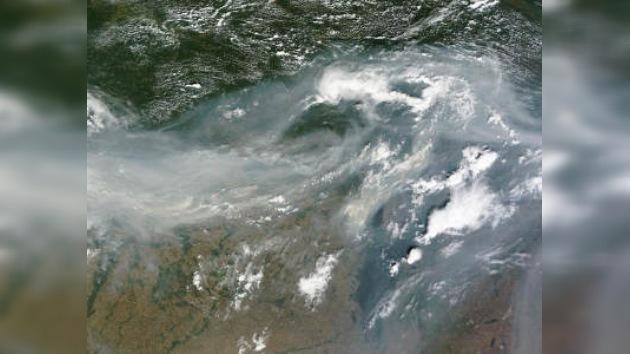 Según NASA el humo en Rusia se extiende a 3000 kilómetros