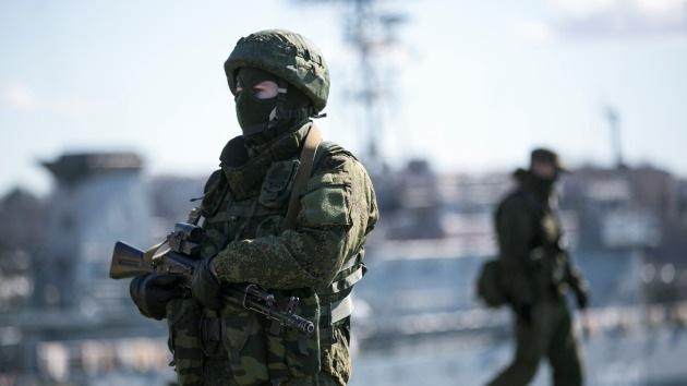 El ataque a un punto de control militar en Crimea se salda con la muerte de uno de los agresores