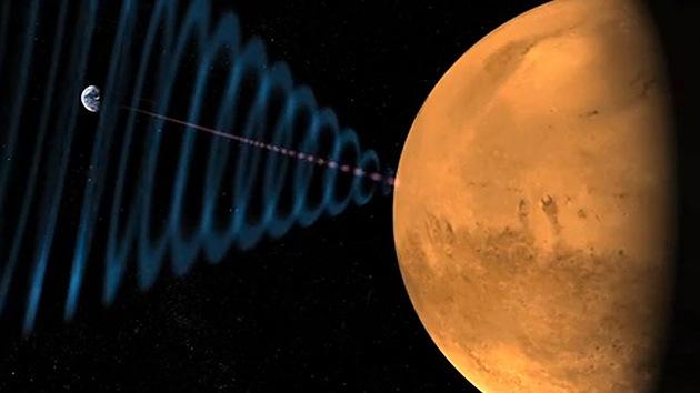 El Curiosity manda por primera vez datos de la voz humana reproducida en Marte
