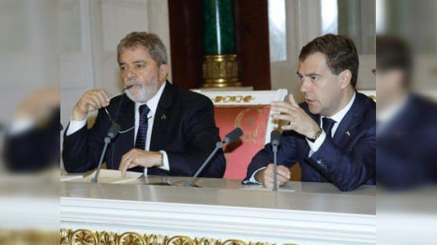 Rueda de prensa de los presidentes ruso y brasileño en Moscú