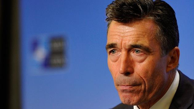 Rasmussen: La OTAN no va a participar en una intervención militar en Siria