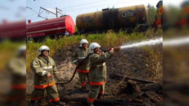 Una aldea rusa de 433 casas, reducida a cenizas por un incendio forestal