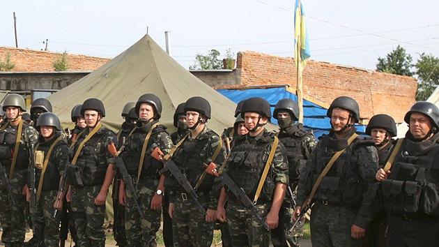 En 2015 EE.UU. gastará 19 millones de dólares en la Guardia Nacional de Ucrania