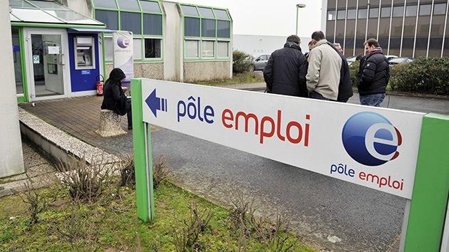 El desempleo en Francia alcanza su máximo de los últimos 15 años