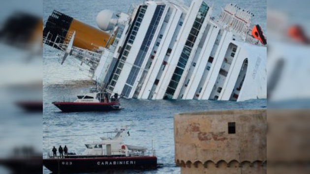 Hallan una nueva víctima del naufragio del Costa Concordia