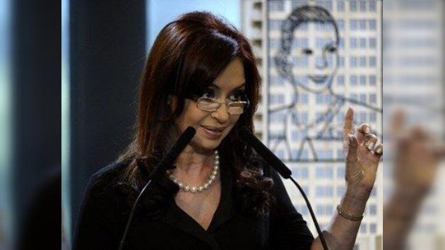 Cristina Fernández, a punto de retomar sus funciones