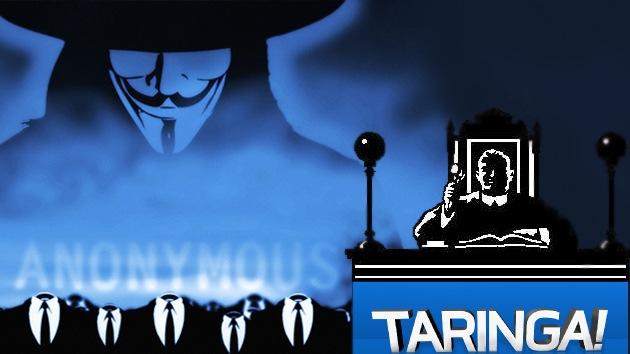 Anonymous ataca sitios oficiales argentinos en defensa de Taringa!