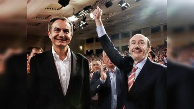 El PSOE aúpa a Rubalcaba como candidato a la presidencia del Gobierno en España