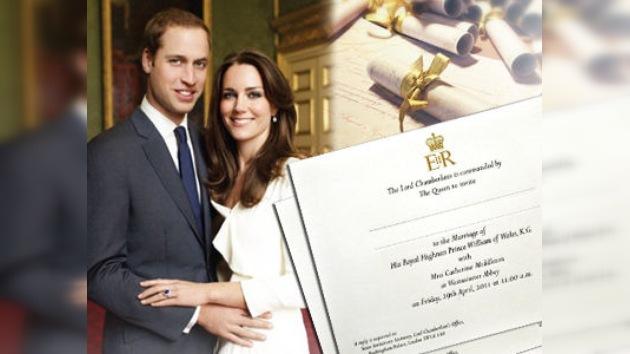 Dan a conocer la lista de invitados a  la boda Real británica