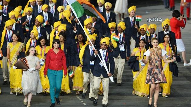 Una intrusa burló la seguridad y desfiló en la ceremonia inaugural de los JJOO
