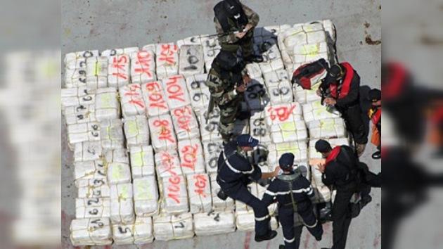 Decomisan en Colombia 12 toneladas de cocaína