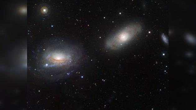 Logran sacar imágenes únicas de dos galaxias a punto de colisionar