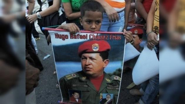 La popularidad de Chávez crece durante su enfermedad