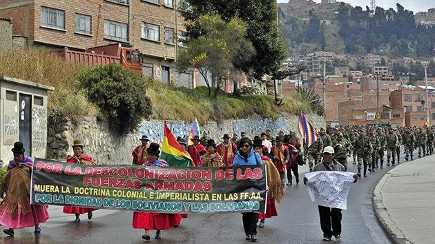 """Sectores sociales denuncian """"un intento de golpe'' en Bolivia y llaman a la unidad"""