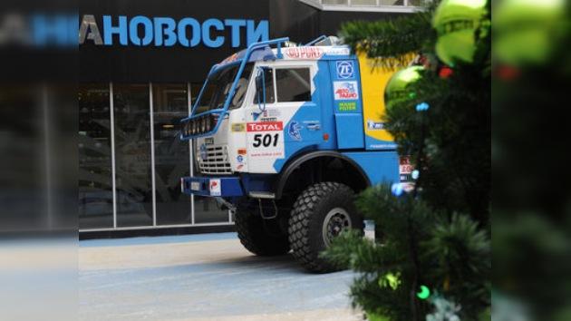 Kamaz lidera tras la primera etapa del Dakar 2010