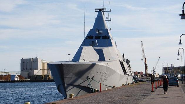 El primer buque sigiloso del mundo: la corbeta sueca clase Visby