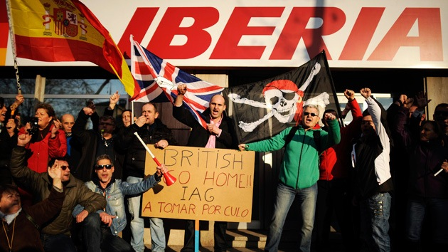 Iberia deja en tierra a miles de pasajeros