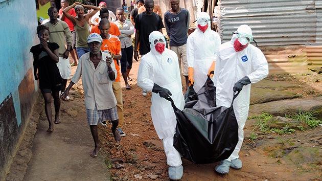 El ébola podría afectar a casi un millón y medio de personas en enero