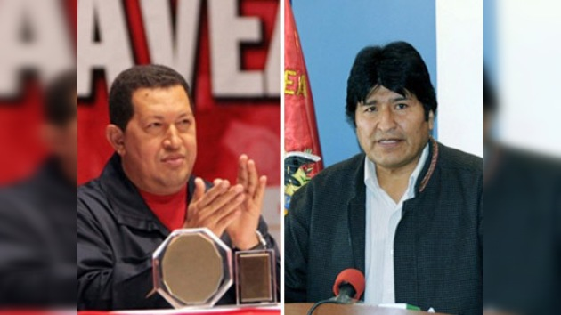 Chávez y Morales aspiran por un nuevo mandato