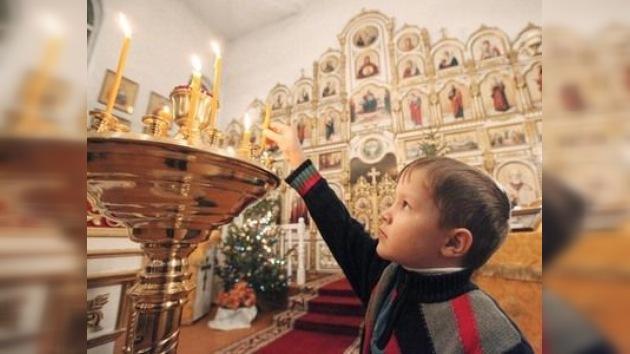 Los rusos están recuperando sus raíces espirituales para la Nochebuena