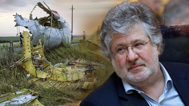 """Político ruso: """"Kolomoiski pudo dar órdenes a controladores aéreos sobre el MH17"""""""