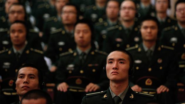 El Ejército chino, en estado de alerta por las tensiones con Japón