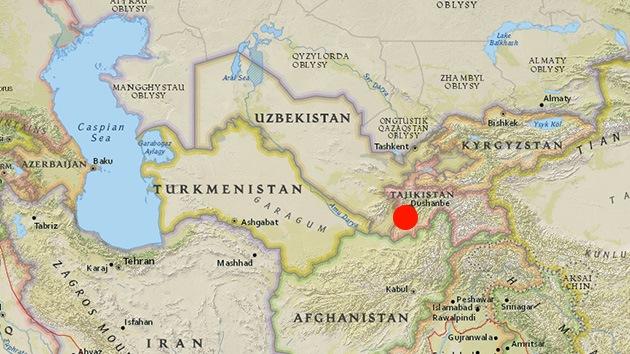Un sismo de 5,2 sacude Tayikistán