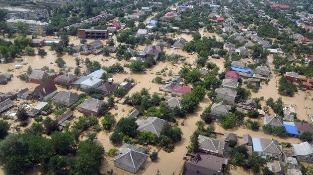 """Testigos de la inundación en el sur de Rusia:""""La ciudad se borró de la faz de la tierra"""" (VIDEO, FOTOS)"""