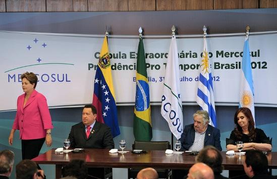 Mercosur da la bienvenida a Venezuela con buenas perspectivas políticas y comerciales