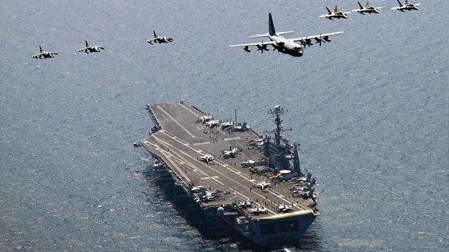 ¿Por qué la Armada de EE.UU. ensaya para un conflicto con China?