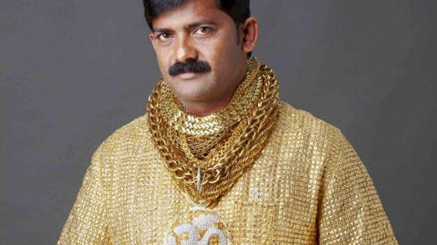 Crean en India una camisa de oro de 250.000 dólares, la más cara del mundo