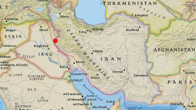 Un terremoto de 5,4 sacude la frontera entre Irán e Irak