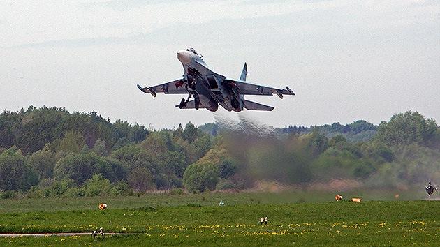 Bielorrusia pide a Rusia que despliegue sus cazas para contrarrestar la actividad de la OTAN